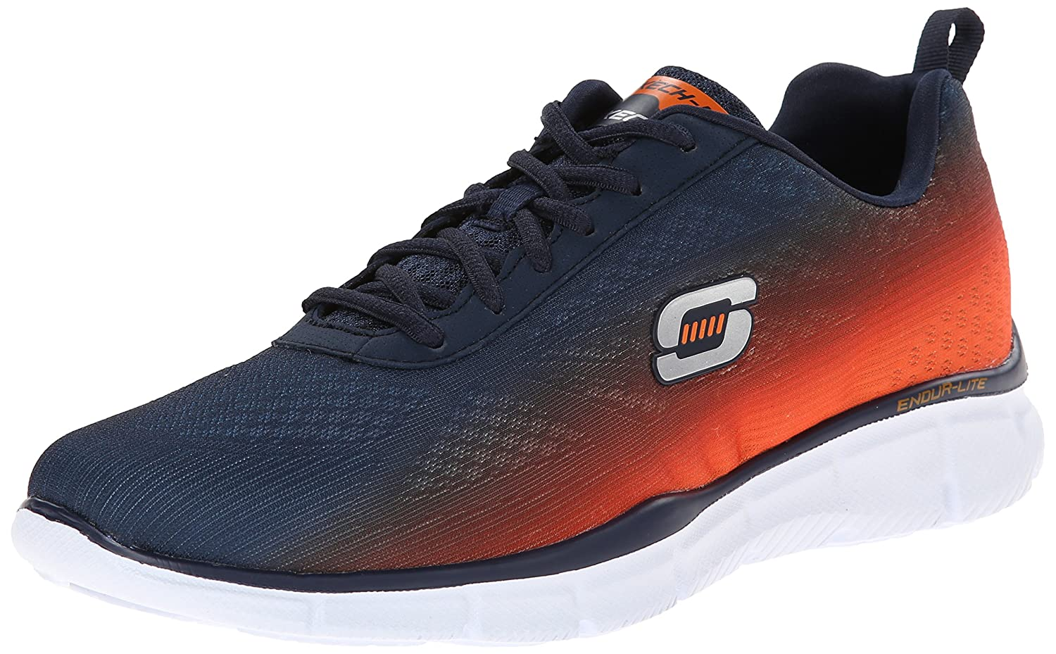 Skechers Equalizer 2.0 Settle The Score, Sneakers Basses Homme, Black (Bkgy - Black Grey), 46