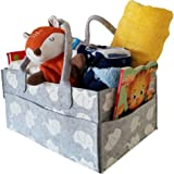 """CozyCaddy Grey Elephant Diaper Caddy 