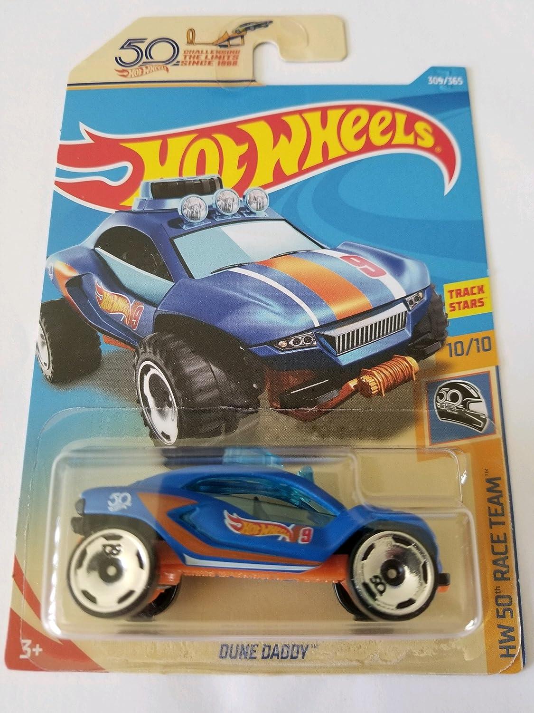 Hot Wheels 70 Pontiac Firebird HW 50 Race Team 6//10 1:64 288//365 2018 Mattel
