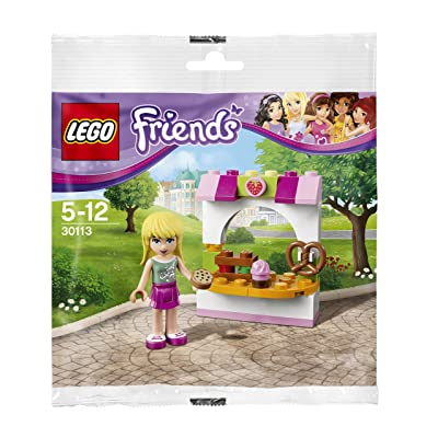 LEGO Friends: Stephanie's Bakery Stand Set 30113 (Bagged): Toys & Games