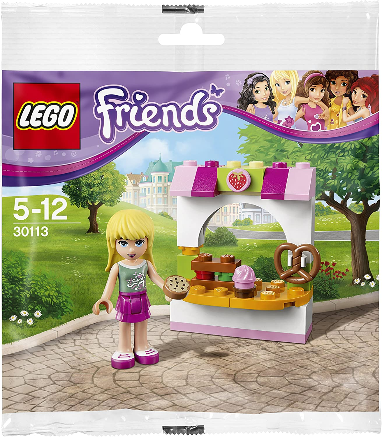 LEGO Friends: Stephanie's Bakery Stand Set 30113 (Bagged)