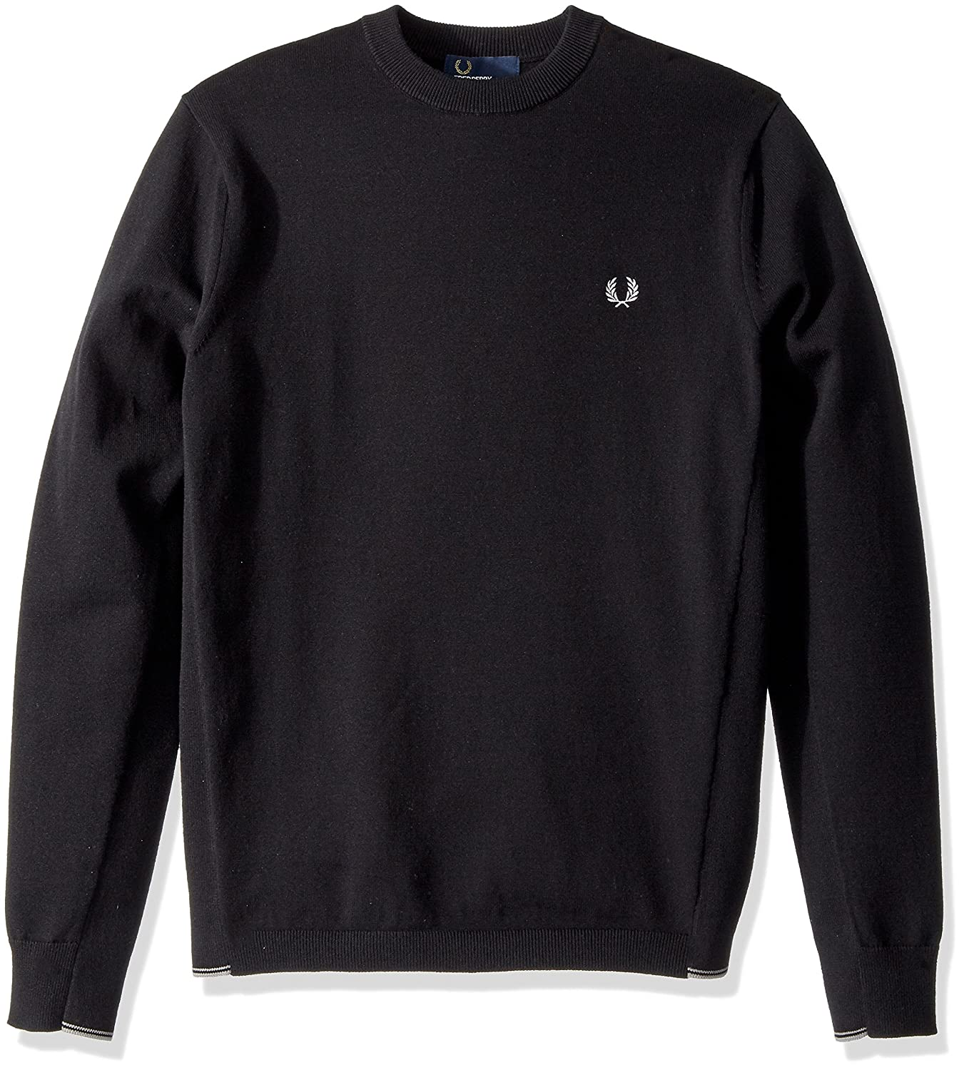 Fred Perry Mens Twin Tipped Crew Neck Jumper
