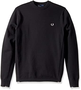 9375c529cc9c Amazon.com  Fred Perry Men s Twin Tipped Crew Neck Jumper  Clothing