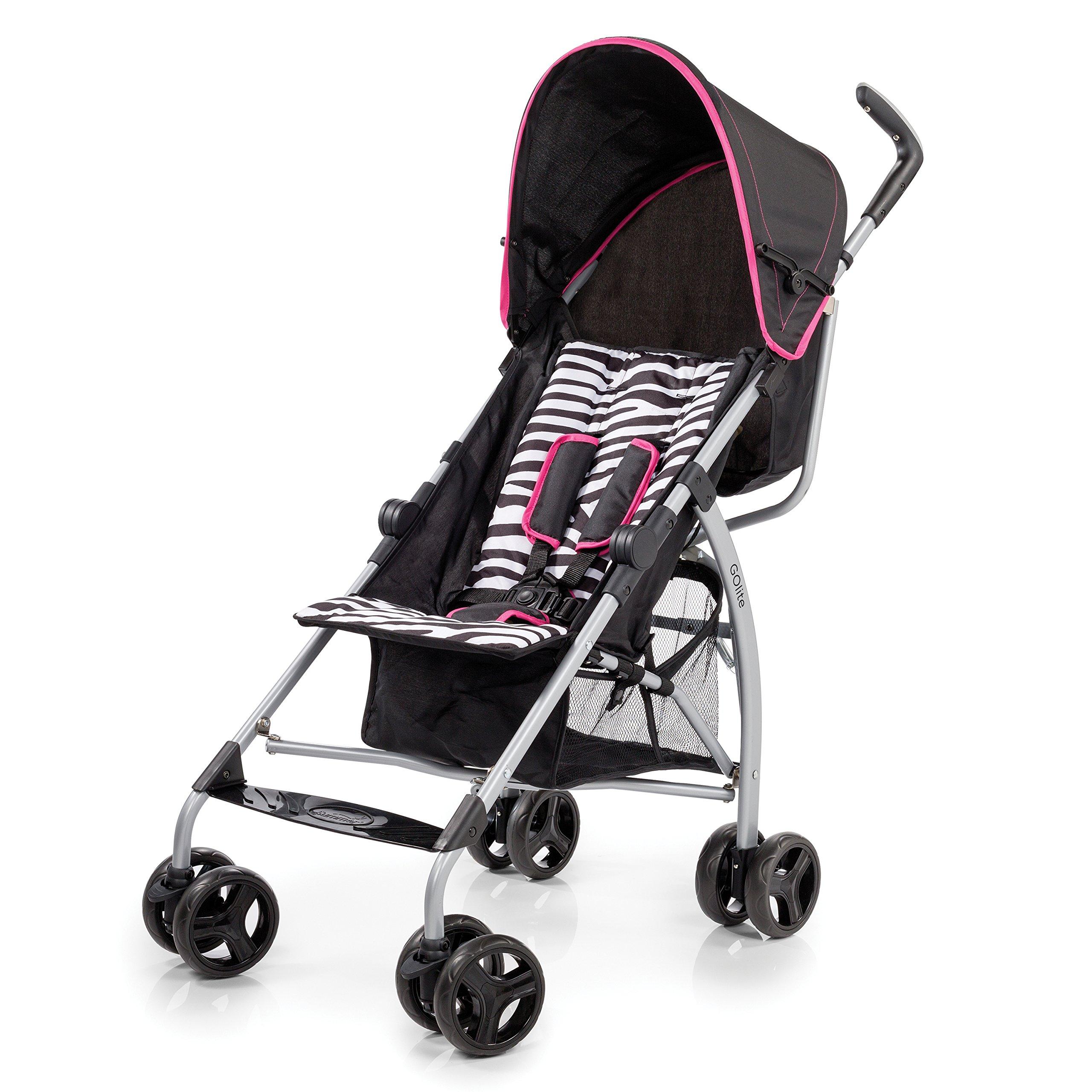 Summer Infant GoLite Convenience Stroller, Wild Card