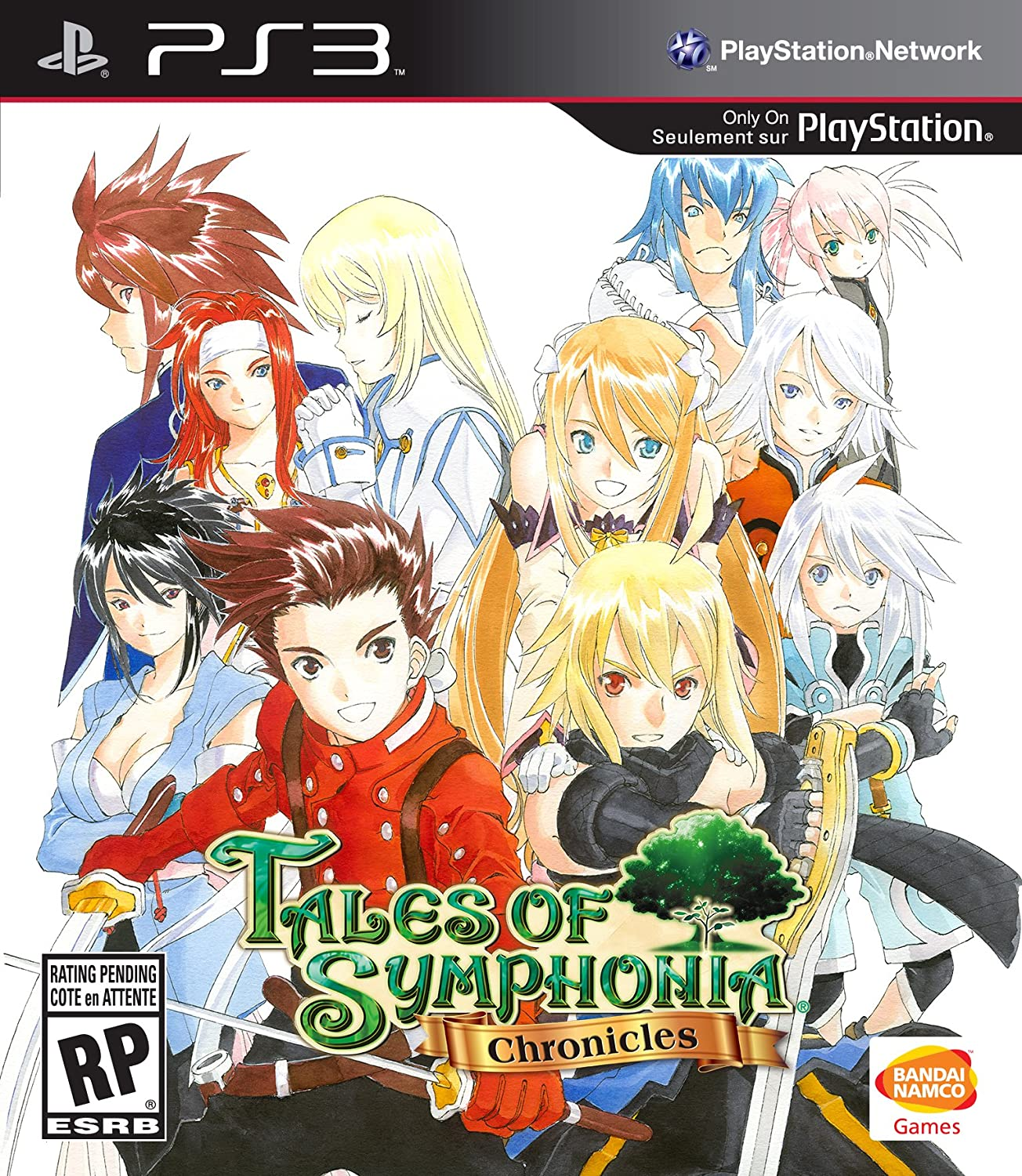 Image result for tales of symphonia art ps3