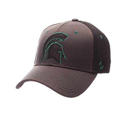 huge selection of 1e9d7 b6d63 ... where to buy zhats ncaa michigan state spartans mens ultra flex hat  charcoal black x 23a0c