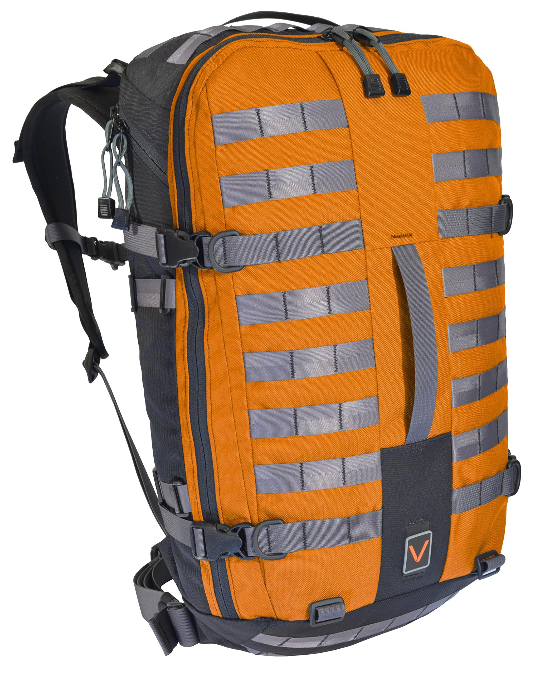 2017VTGR14 Modular Bug Out Bag, Women's Small, Orange by VITAL GEAR