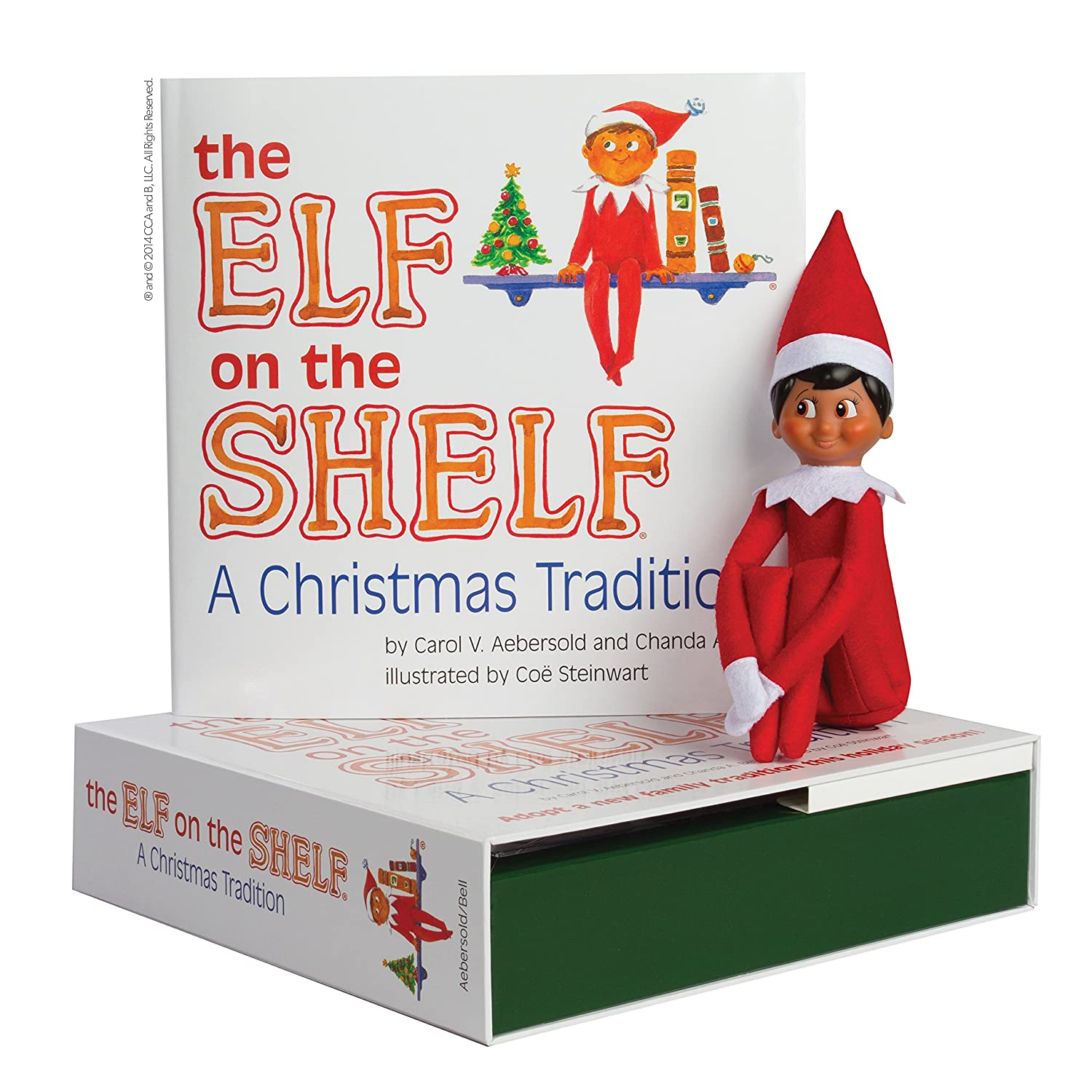 The Elf on the Shelf: A Christmas Tradition (Includes Boy Scout Elf ...