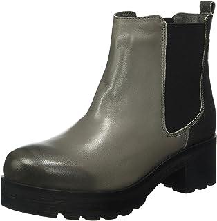 Shoes SH-216041M, Bottines Non Doublées Femme - Noir - Noir, 39Shoot