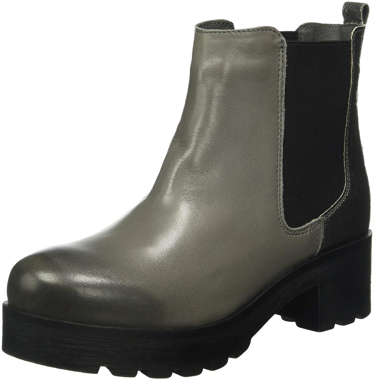 SHOOT Damen Chelsea Boots, Grau (Grey), 39 EU