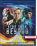 STAR TREK BEYOND Blu-ray+DVD+Digital HD Combo Set INCLUDES Bonus Blu-ray Disc with over 90 Minutes of Special Features