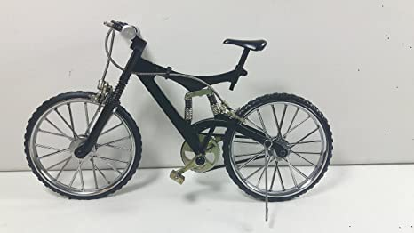 Bicicleta Modelo miniatura bicicleta metal MTB: Amazon.es ...
