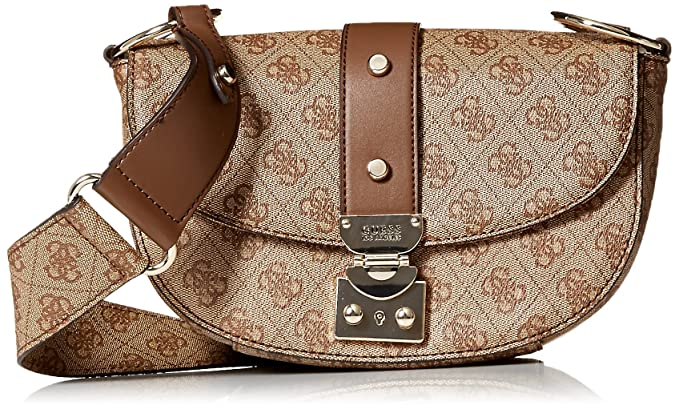 510a529fb4 GUESS Florence Shoulder Bag BRO
