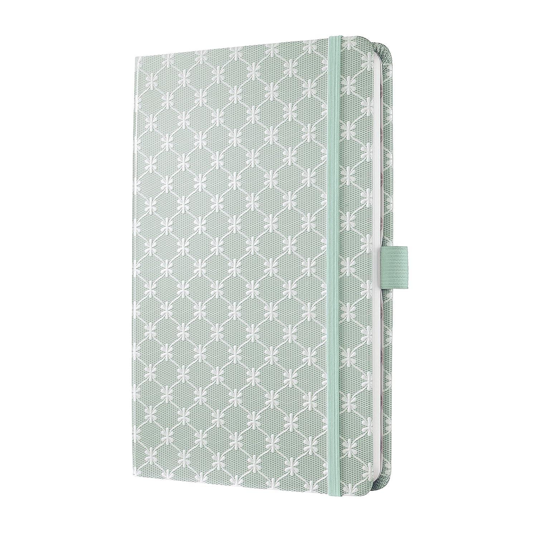 Sigel JN315 Carnet de notes Jolie, 13,5 x 20,3 cm, ligné, couverture rigide, framboise