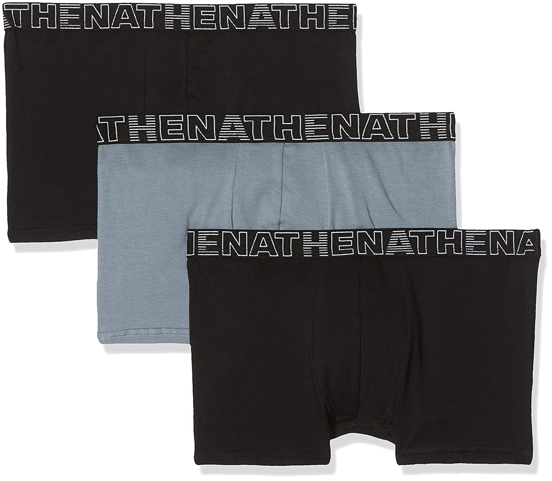 ATHENA Basic Color Bañador (Pack de 3) para Hombre