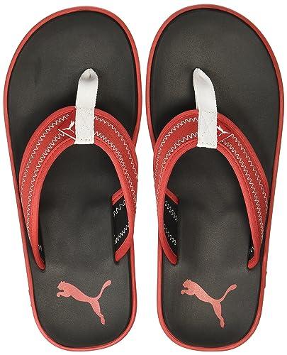 956194b3050ad Puma Men s Cult IDP H2T High Risk Red and Black Flip Flops Thong Sandals -  10