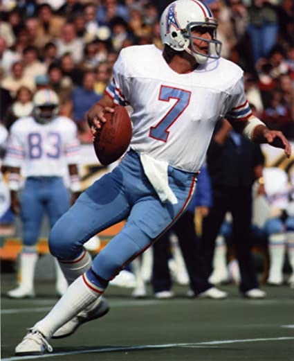 Image Unavailable. Image not available for. Color  DAN PASTORINI HOUSTON  OILERS ... f961fc87d