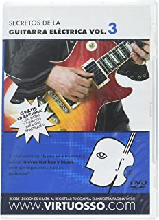 Virtuosso Electric Guitar Method Vol.3 (Curso De Guitarra Eléctrica Vol.3)