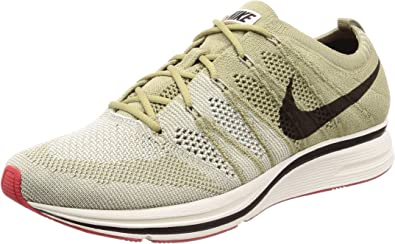 Desempleados Deflector Hasta aquí  Amazon.com | Nike Men's Flyknit Trainer Neutral Olive/Velvet Brown Training  Shoe | Fitness & Cross-Training