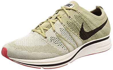 b711f38541a9 Nike Men s Flyknit Trainer Neutral Olive Velvet Brown Training Shoe 4 Men  US   5.5