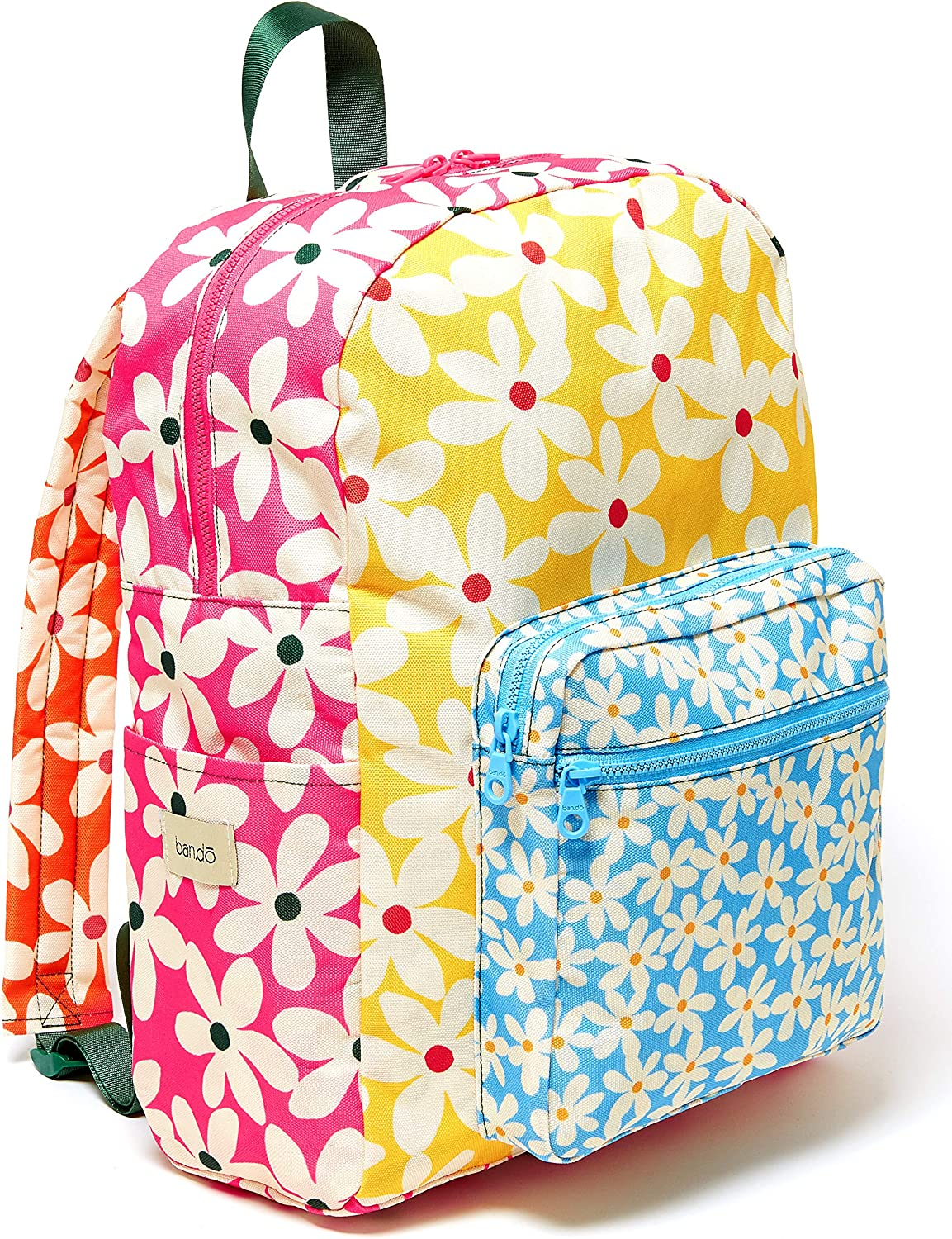 ban.do Go-Go Backpack with Computer Storage Sleeve for School/Work, Lightweight Computer Bag Fits Up to 15 inch Laptop