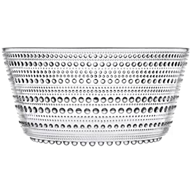 Iittala Kastehelmi Serving Bowl, Clear
