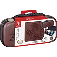 Nintendo Switch Zelda Breath of The Wild Carrying Case – Protective Deluxe Travel Case – Koskin Leather with…