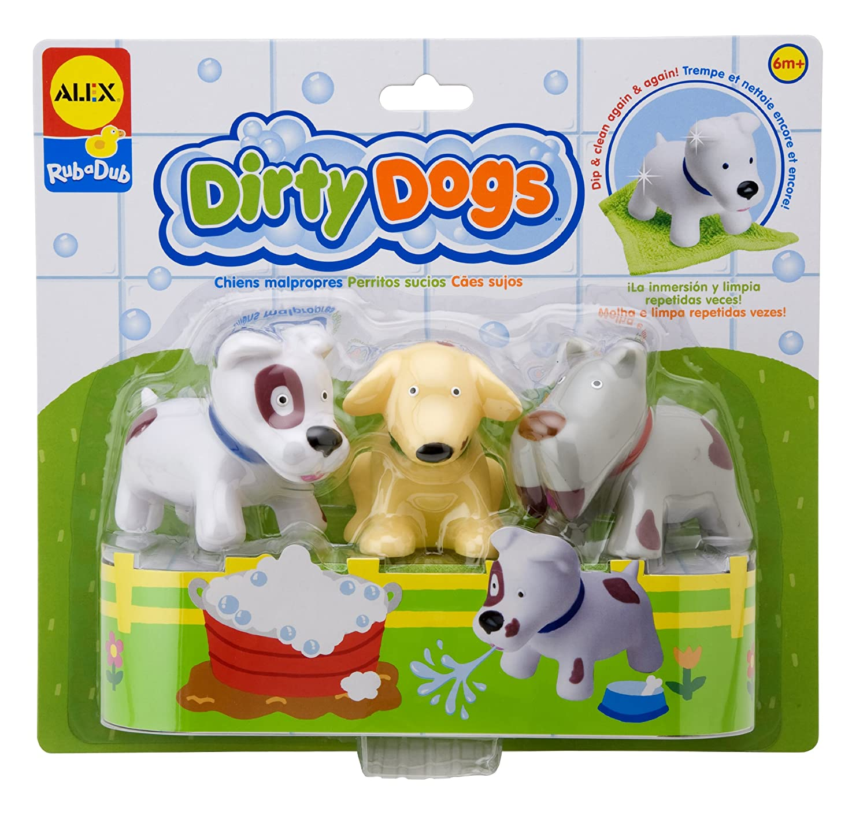 ALEX Toys Rub a Dub Dirty Dogs