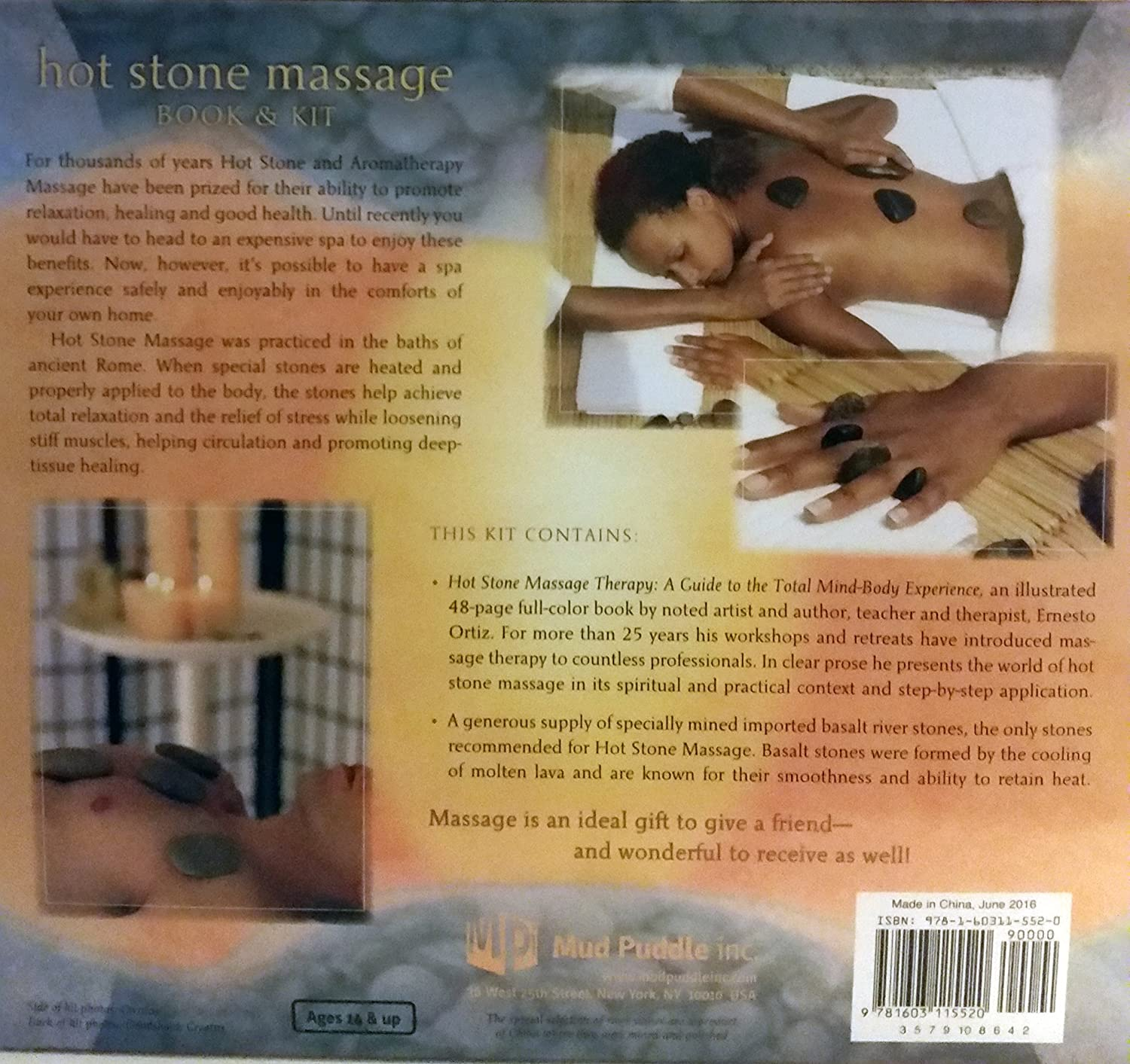 Amazon.com : Hot Stone Massage Therapy: A Guide to the Total Mind ...
