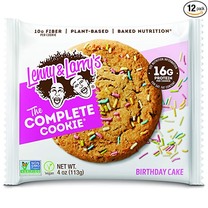 Miraculous Lenny Larrys The Complete Cookie Birthday Cake 4 Oz Pack Of Funny Birthday Cards Online Elaedamsfinfo