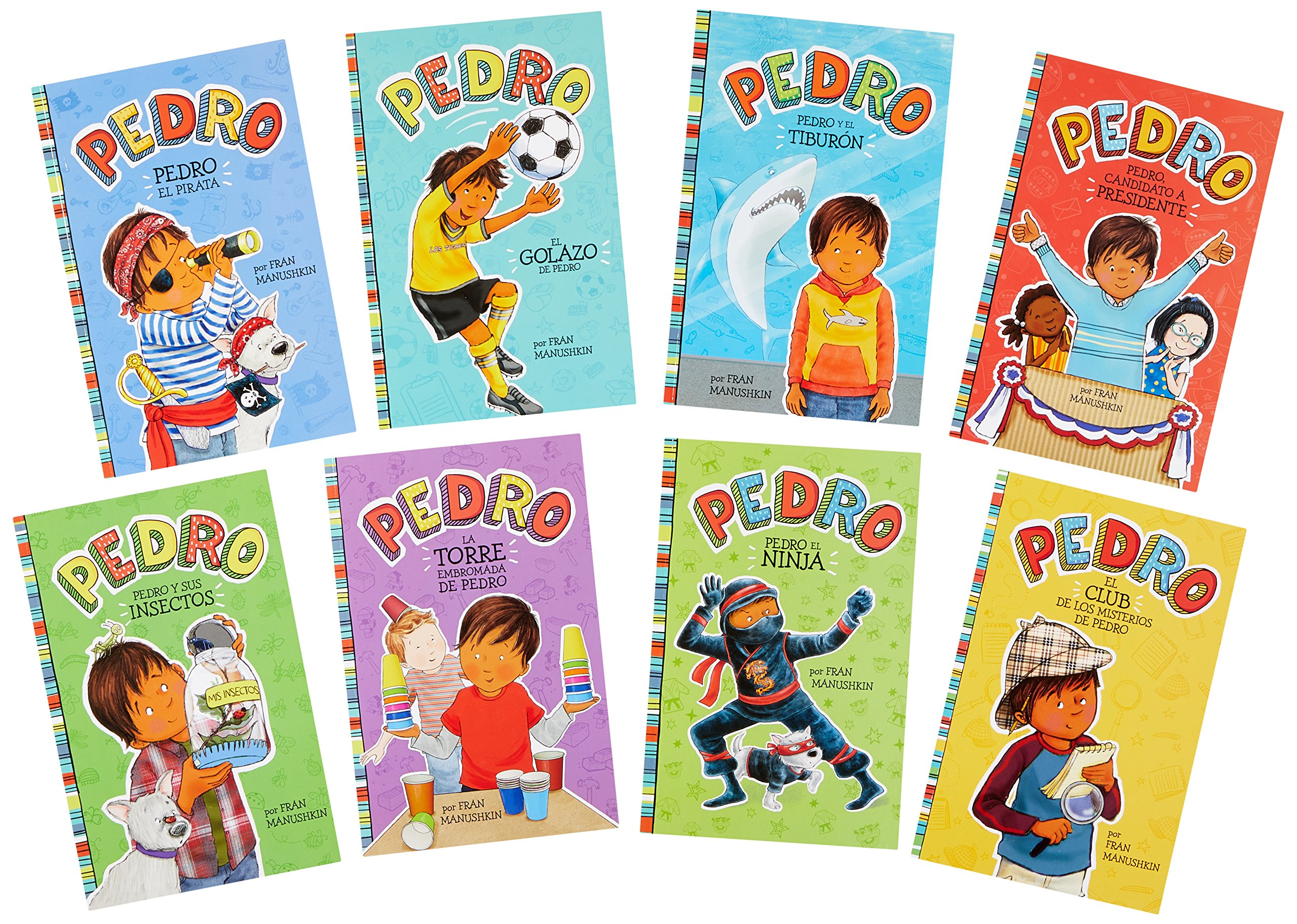 Pedro en español (Spanish Edition): Fran Manushkin, Tammie ...