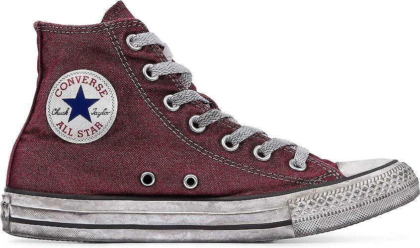 Converse Sneakers Ctas Canvas Ltd Hi Bordeaux Vintage 160152C (35