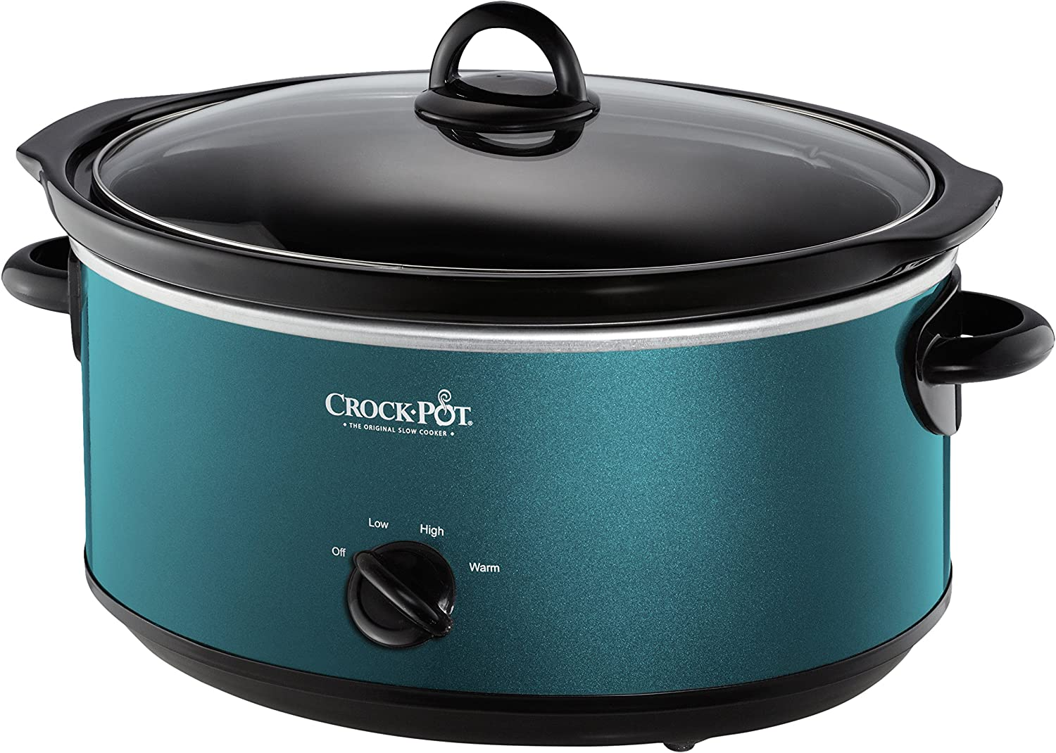 Crockpot SCV700-KT Deisgn to Shine 7QT Slow Cooker, Turquoise