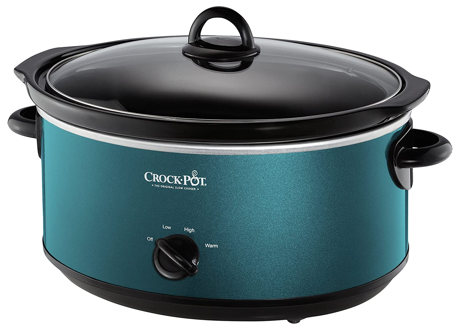 Crockpot SCV700-KT Deisgn to Shine 7QT Slow Cooker Turquoise