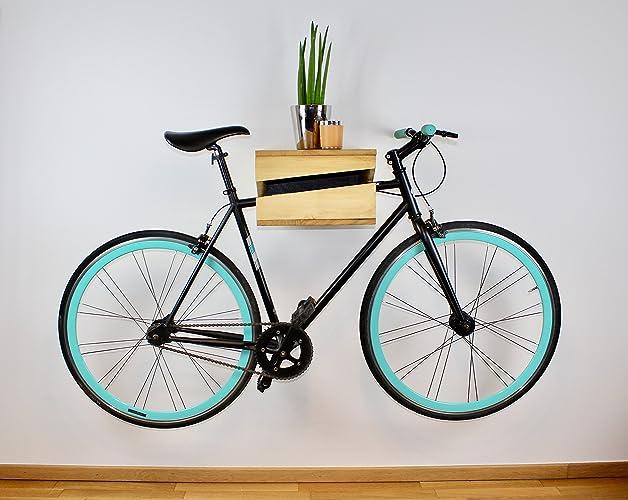 Fahrrad Wandhalterung Aus Holz I Fahrradhalterung I