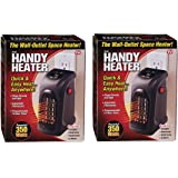 Handy Heater Portable Ceramic Space Heater (Pack of 2) Brand new and Fast Shipping Made in USA