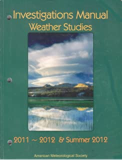 Weather studies joseph m moran 9781935704959 amazon books weather studies investigations manual academic year 2011 2012 and summer 2012 fandeluxe Image collections