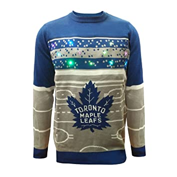 newest 6771e 61495 Toronto Maple Leafs Hockey Rink Light Up Sweater