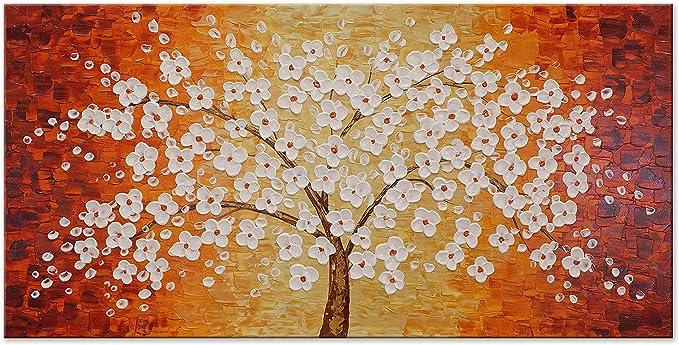 La vernice bellissime albero ha super bella fiori arancione!