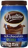 Nestle Ovaltine Chocolate Rich Chocolate Mix, 12 oz