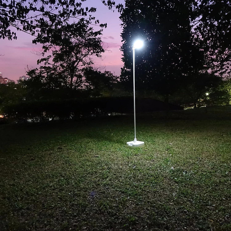 Farola de calle con energía solar LED, fotovoltaica con luz LED: Amazon.es: Iluminación