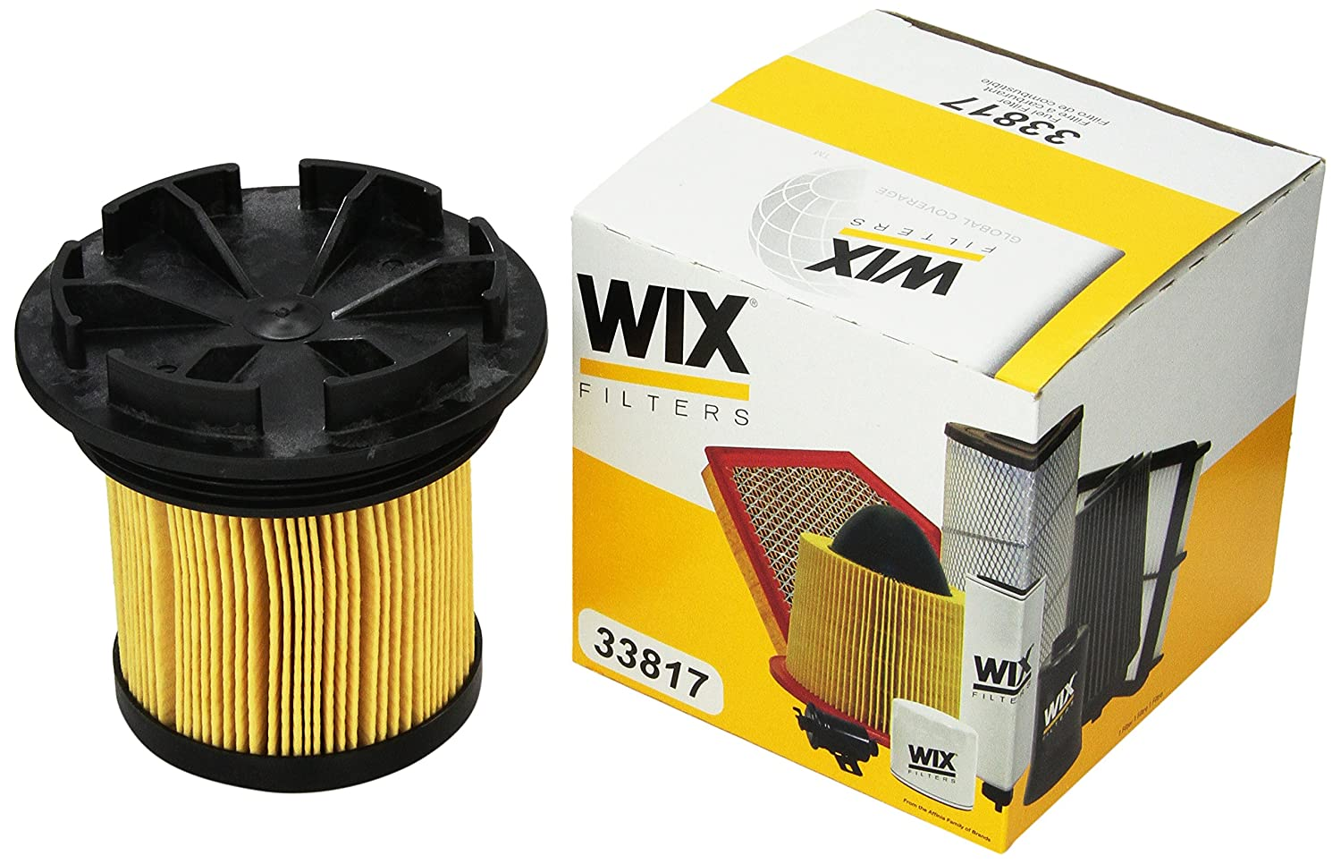 Amazon.com: WIX Filters - 33817 Heavy Duty Fuel Cartridge (Special T, Pack  of 1: Automotive