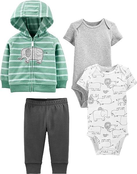 Simple Joys by Carters Baby-Jungen 4er Pack Hosen