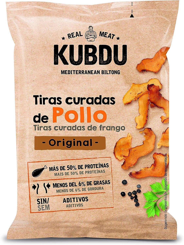 Noel Kubdu Tiras Curadas de Pollo Original, 25g