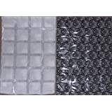ThermaFreeze BLACK ICE Select Edition Heavy Duty Reusable Ice Pack Sheets - 5 XL 10x15 inch sheets (4x6 cells each) - Superchilled Reusable, Flexible, Non-Toxic - Lasts hours longer than ice