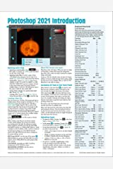 Adobe Photoshop 2021 Introduction Quick Reference Guide (4-page Cheat Sheet of Instructions, Tips & Shortcuts - Laminated Card) Pamphlet