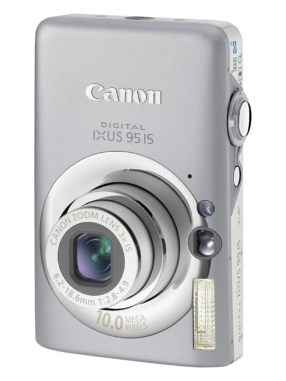 Canon Digital IXUS 95 IS Digital Camera - Silver 2.5: Amazon.co.uk: Camera  & Photo