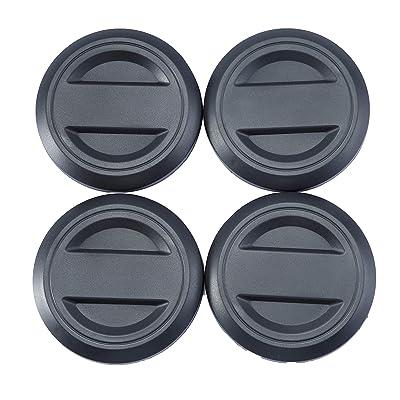 CPOWACE Black Wheel Hub Cap Center Cap Compatible for Polaris RZR 1000 / RZR Turbo(4PCS): Automotive