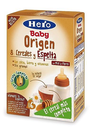 Hero Baby Natur Origen Miel, Estuche de Papilla - 500 gr