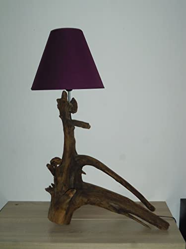 Prix lampe bois flotté